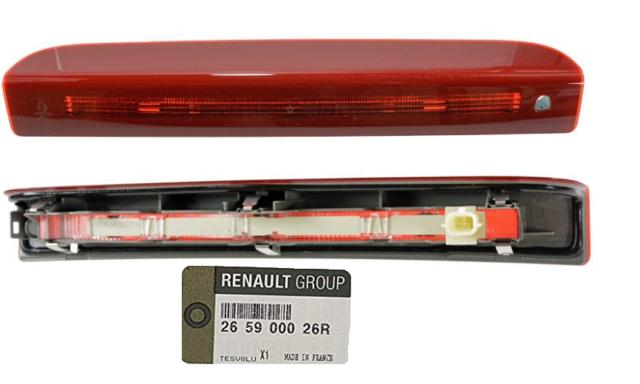 RENAULT SCENIC III FEU STOP PORTE ARRIERE 265900026R TOP ORIGINAL .