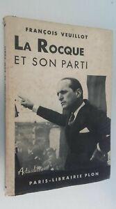 Francois-Veuillot-La-Rocque-E-il-Suo-Festa-Plon-Parigi-1938-Spilla-ABE