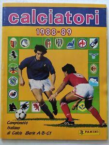 ALBUM CALCIATORI 1988-1989 PANINI Q. VUOTO CON CEDOLE OTTIME CONDIZIONI 88-89