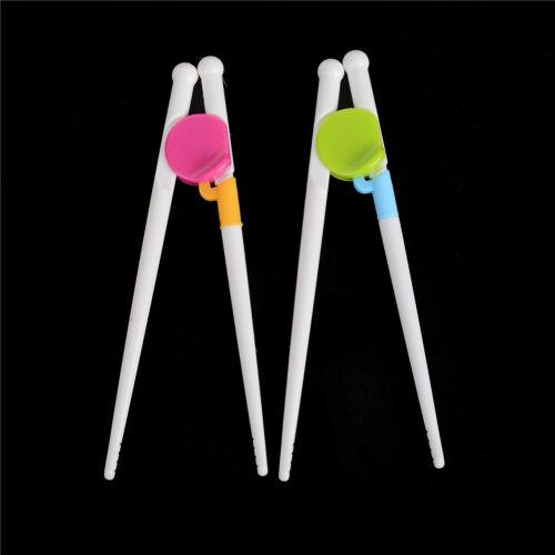 Children Kids Training Helper Learning Easy Use Beginner Chopsticks   FBB