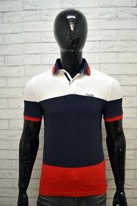 Polo-Stretch-Uomo-TOMMY-HILFIGER-Taglia-XS-Maglia-Manica-Corta-Shirt-Man