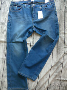 Sheego-Jeans-Pants-Die-Straight-Blue-Ladies-Size-44-to-58-459-Oversize