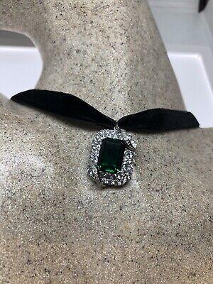 Neueste Kollektion Von Vintage Grün Fluorit Deko Choker