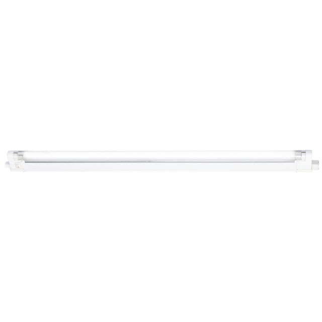 Knightsbridge IP20 30W T4 Fluorescent Fitting Tube, Switch and Diffuser 4000K x1
