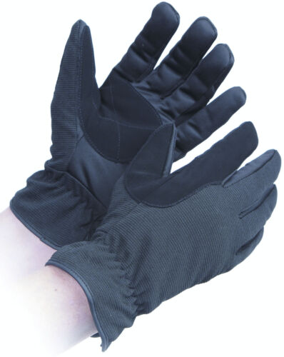 197 Shires Bayswater Thinsulate Lined Riding Gloves Black 5 sizes