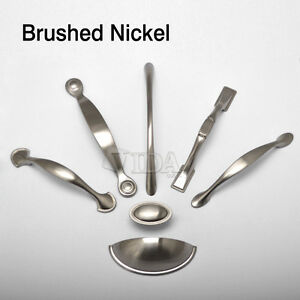 brushed nickel kitchen cabinet hardware brushed nickel arched kitchen cabinet pull handles half 7966