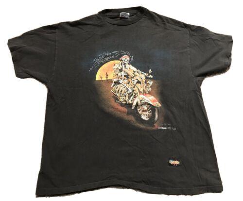 Vintage Bad To The Bone Easyriders Shirt XL 1992 A