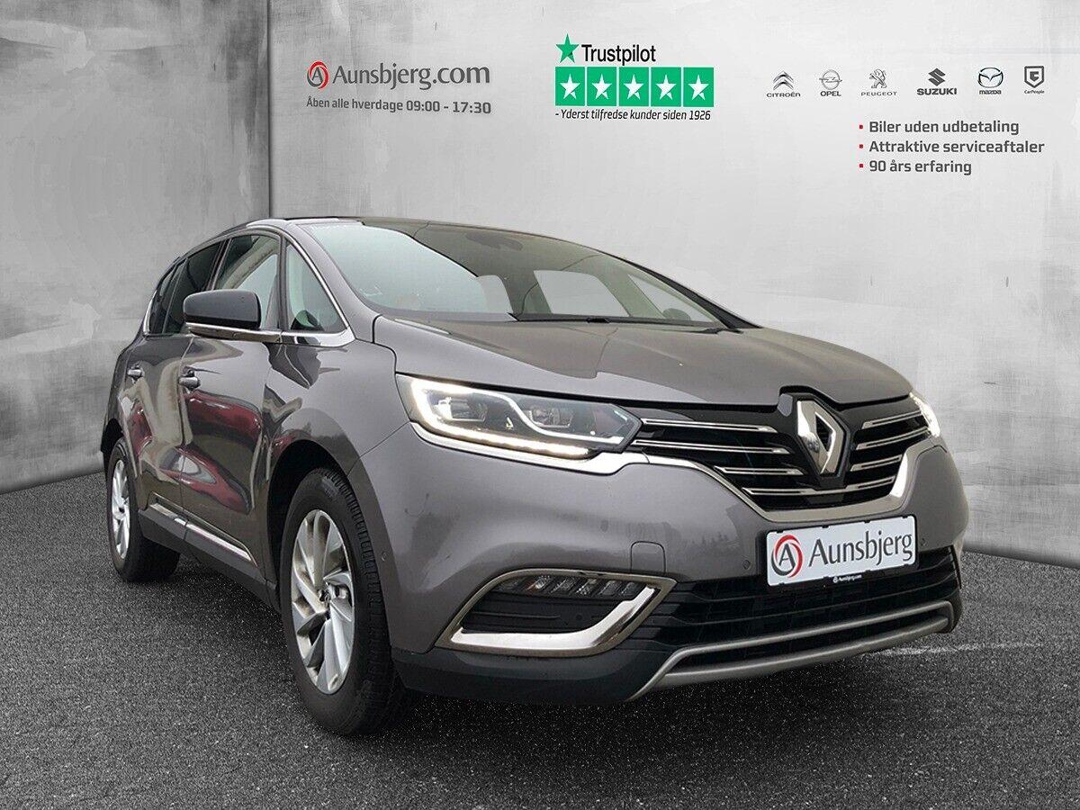 Renault Espace 1,6 dCi 160 Zen EDC 5d - 269.700 kr.