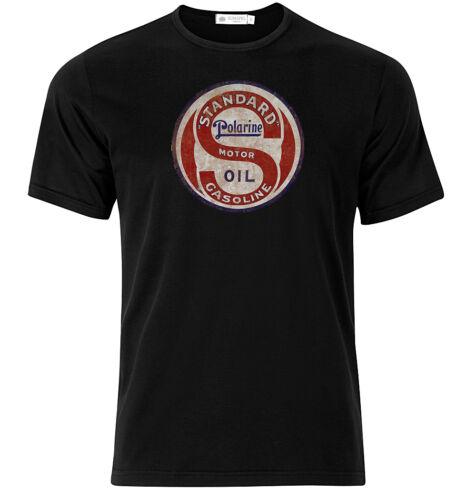 Polarine Gasoline Graphic Cotton T Shirt Short /& Long Sleeve