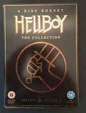 Hellboy 1 & 2 - 4 disc collection - Steelbook DVD