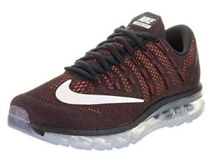 new concept 12969 cc944 Image is loading NIKE-Air-Max-2016-Shoes-Black-Summit-White-
