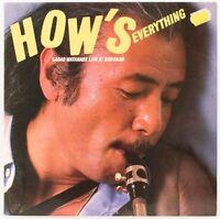 How's Everything   Sadao Watanabe  Vinyl Record