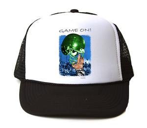Trucker Mesh Hat Cap Foam Mesh Trucker Sports Football Game On e4755c