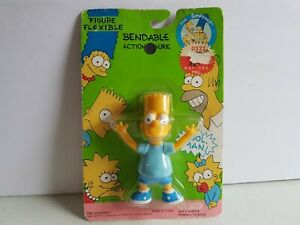 The-Simpsons-Bart-Simpson-Sealed-on-Card-FOX-Action-Figure-1990