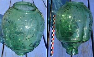 Verre-de-lampe-assez-ancien-vert-en-tres-bon-etat-hauteur-20-1-cm
