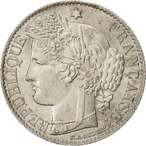 Monnaies-France-Ceres-50-Centimes-1888-Paris-SPL-Argent-481546