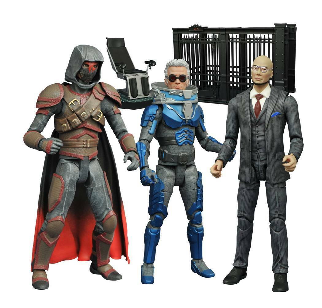 Diamond Select CW TV GOTHAM Series 4 cifra Set   AZRAEL  HUGO STRANGE  gratuitoZE   più ordine