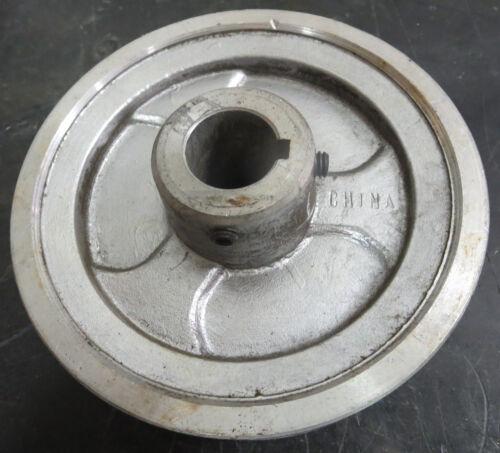 "2 Groove 5 3//4/"" Diameter 1/"" Bore Aluminum Conveyor Pulley"