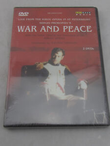 NEW-War-and-Peace-DVD-1991-Import-Region-Code-2-amp-5-Sealed