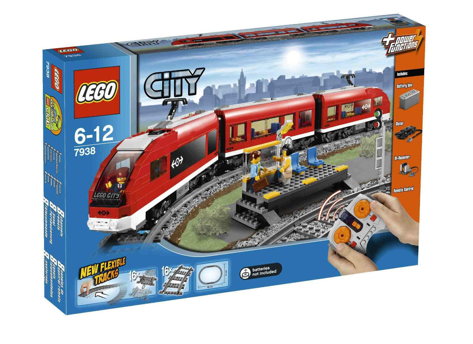 Lego City 7938 Treno Passeggeri Nuovo Bellissimo Fuori Produzione NO 60051 60197