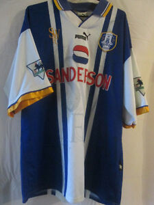 Sheffield-Wednesday-1995-97-Stefanovic-Match-Worn-Football-Shirt-Size-XL-7855