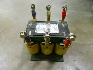 Details about HYUP HWA HH-ACL 0 86KVA 0 8 KVA AC REACTOR 480V 480 V VOLT  3PH 3 PHASE 0 233mH