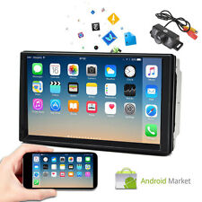 "Android 4.4 Car stereo GPS NO-DVD player 7"" Tablet Double 2DIN Radio 3G WiFi+Cam"