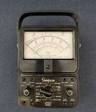Vintage Simpson 260 Series 4 Volt Ohm Milliammeter Not Tested