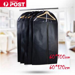 Garment Cover Storage Bags Dustproof Home Dress Suit Coat Jacket Protector AU
