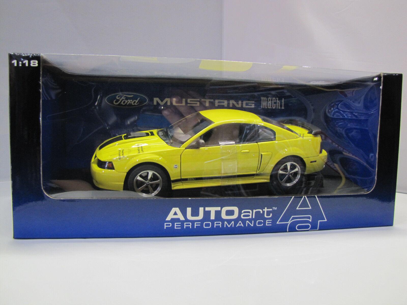 73006 AUTOart Ford Mustang mach 1  40th Anniversary 2004 Urleo Gituttio 1 18