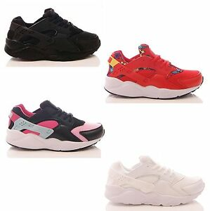Womens Ladies Trainers Chunky Sole Sports Gym Lace Up Sneakers Shoes Size