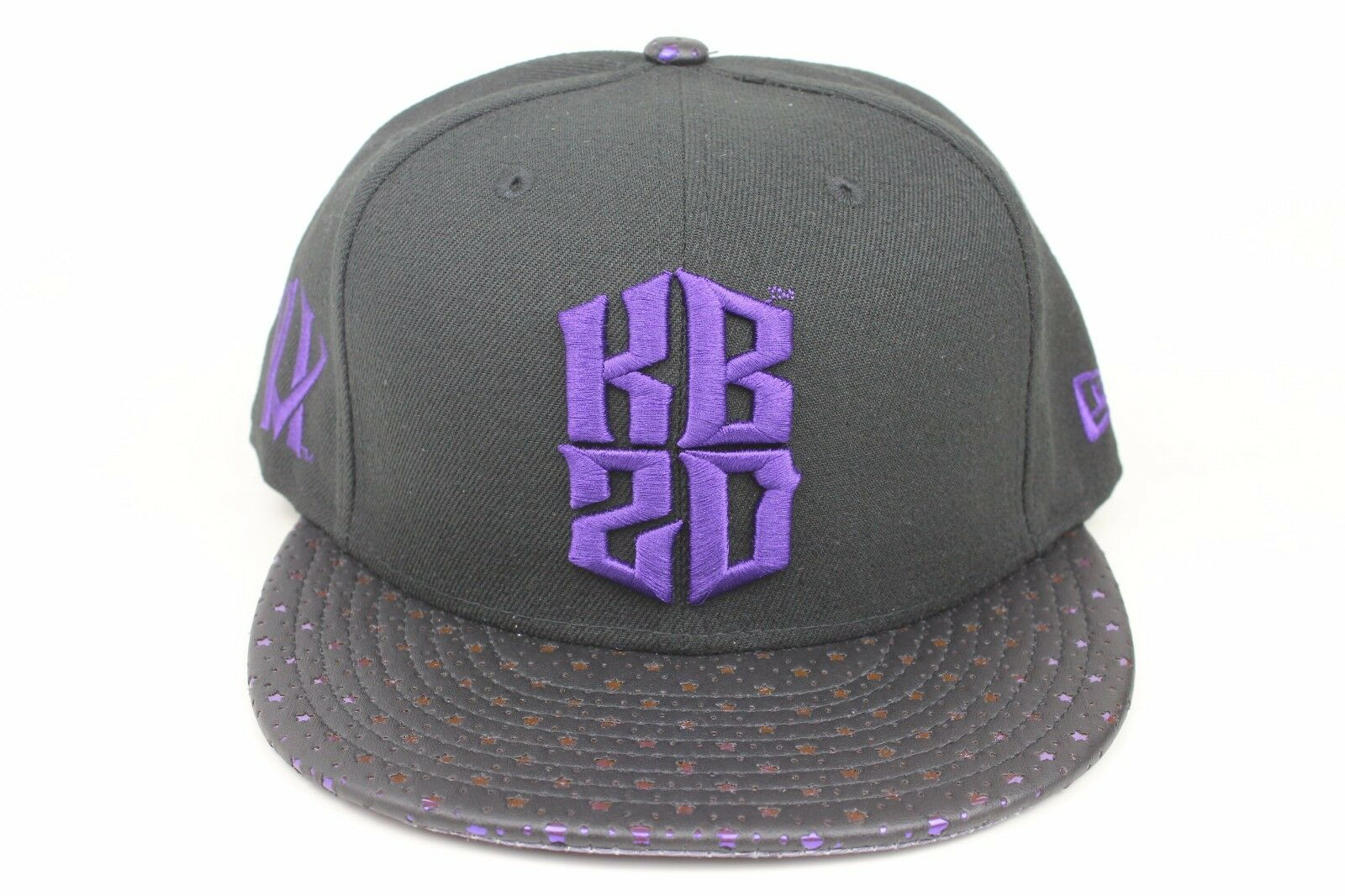 Kobe Bryant KB20 Hero Villain / Visor Black / Star Visor / New Era 9Fifty Snapback Mamba 223d36