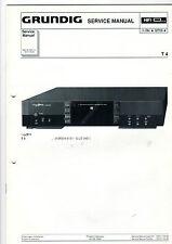 Grundig Service Anleitung Manual Receiver T 4   B406