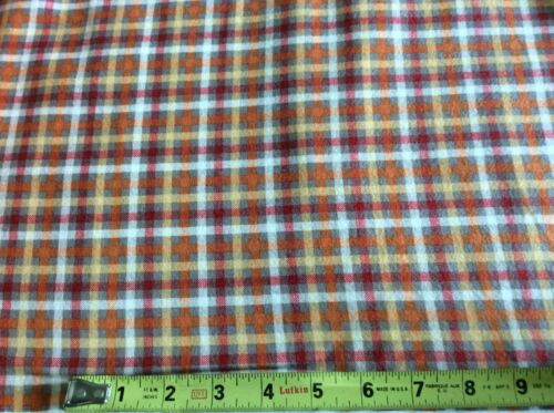 BY THE YARD Q8016F-44 PLAID HENRY GLASS THE BUGGY BARN FLANNEL ESSENTIALS 7