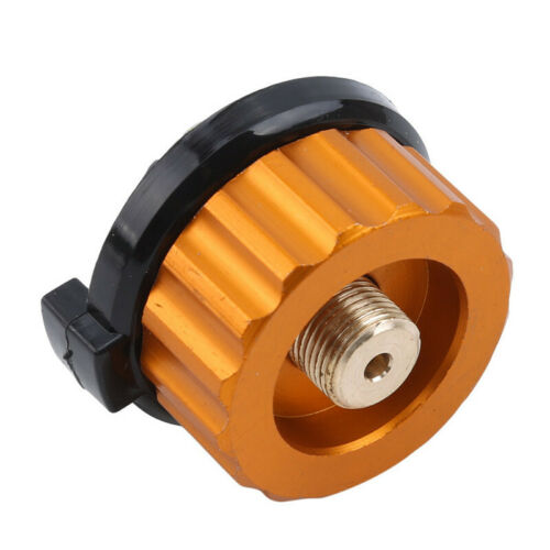 Small Camping Burner Conversion Head Tank Gas Bottle Adapter Stove Connector BA