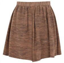 NWT $224 Sz. Large JOIE Silk 'Marylin' Shorts Skort Tiger Stripe Caviar Pleated
