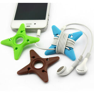 10Pcs-Darts-Star-Cable-Winder-Earphone-Organizer-Wrap-Wire-Holder-Organizer-3C