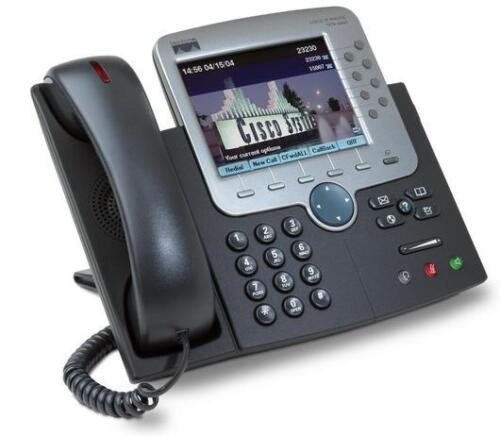 Top Zustand Telefon mit Farbdisplay Cisco CP-7970G IP Phone SCCP CP7970