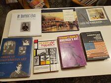 MIXED Lot of 7 books American art Civil war  history Museums daguerreian picture