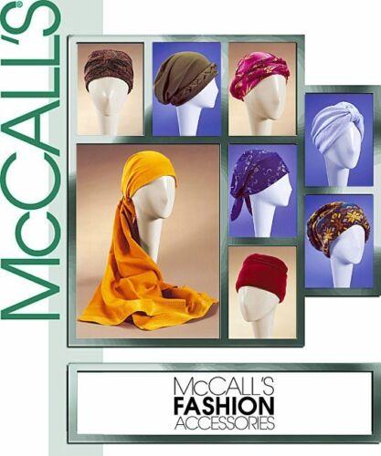 McCall/'s 4116 Épuisé Femme Chapeaux Turbans headwraps etc. Réduit