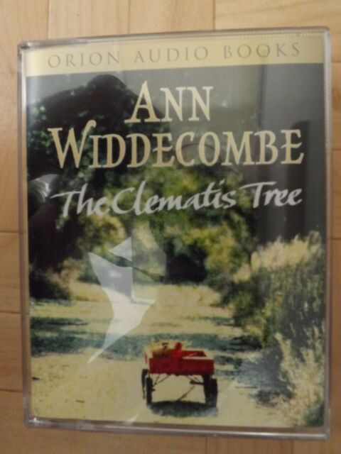 Ann Widdecombe THE CLEMATIS TREE 3 Hours 20 Mins 2 Cassette Audio Book RARE NEW