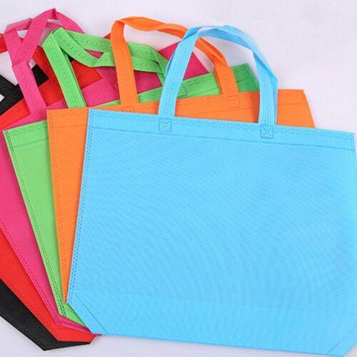 Eco Reusable Shopping Bag Storage Grocery Handbag Shoulder Pouch Tote Non Woven