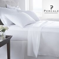 6 King 108x115 Xl T-200 Choice Hotel Flat Bed Sheet Premium Quality Percale on sale
