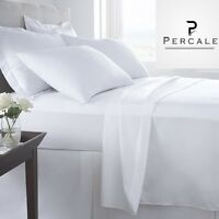 1 King 108x110 T-250 Choice Hotel Flat Bed Sheet Premium Quality Percale on sale