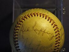 RED RUFFING, MULE HASS, FRICK, BERRA, DOBY & MORE   JSA PAPERWORK