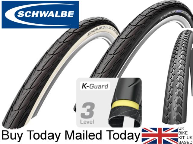 Schwalbe 37-540 DeltaCruiser Wired black-white 24x1 3//8