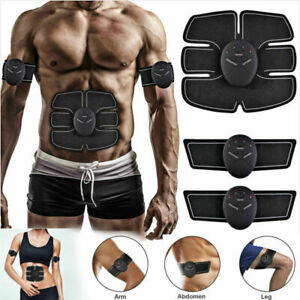 Electric-Muscle-Toner-EMS-Machine-Wireless-Toning-Belt-6-Six-Pack-Abs-Fat-Burner