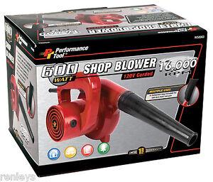 Portable Mini Air Blower Vac Leaf Compact Electric