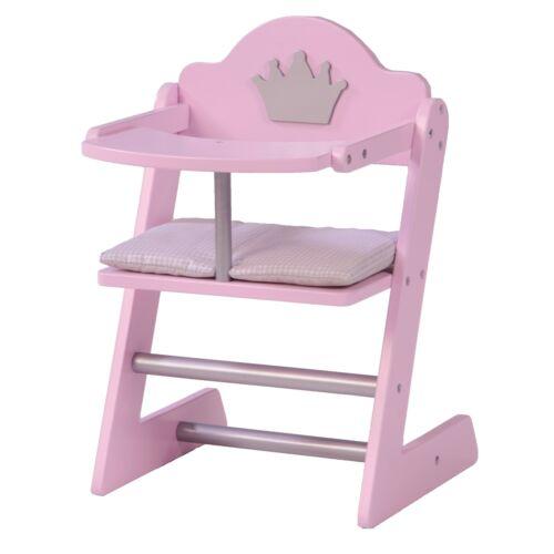 Roba Kids Puppenhochstuhl mit Sitzkissen Prinzessin Sophie