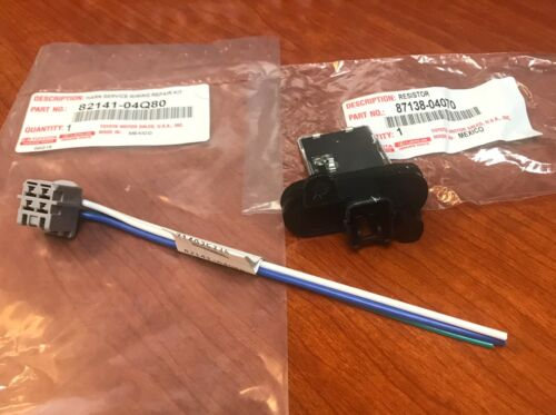 2005-2019 Genuine Toyota Tacoma Blower Resistor /& Connector for blower motor OEM